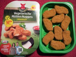 Vegetarische Mühlen Nuggets klassisch