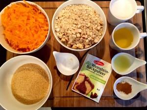 Karottenkuchen vegan und glutenfrei