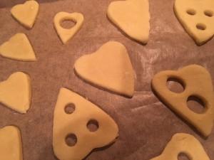 Lemon Curd Kekse Rohteig Herzen 1
