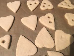 Lemon Curd Kekse gebacken Teil 1