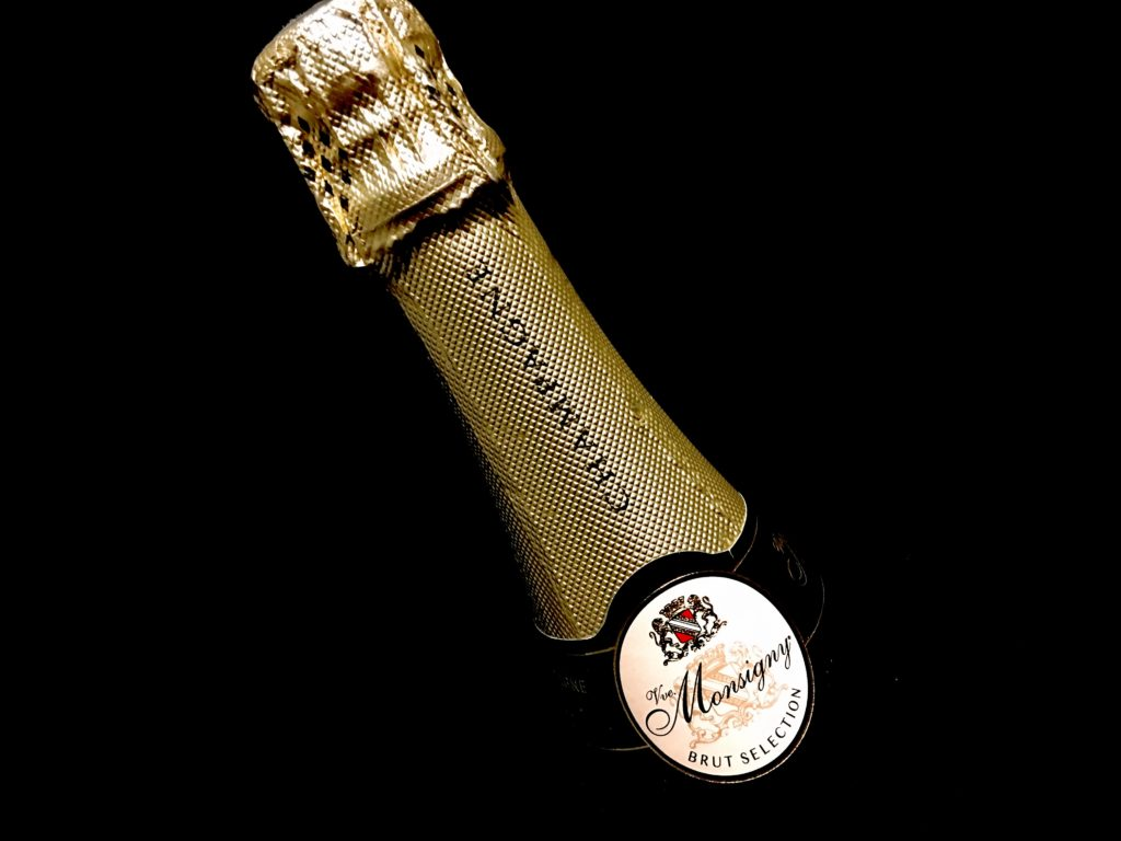 Champagner Veuve Monsigny Brut Flaschenhals