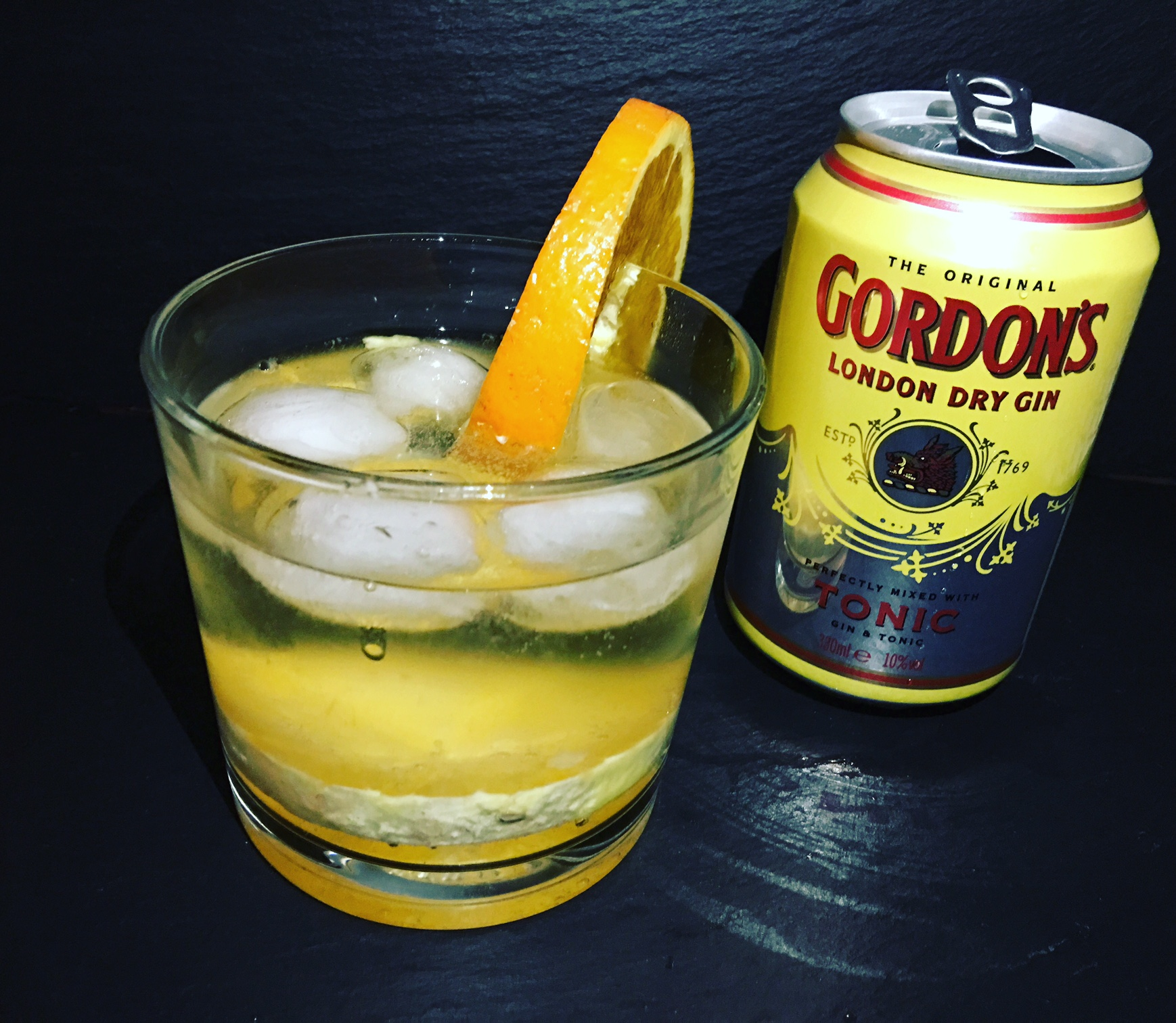 Gordons London Dry Gin mit Tonic in der Dose