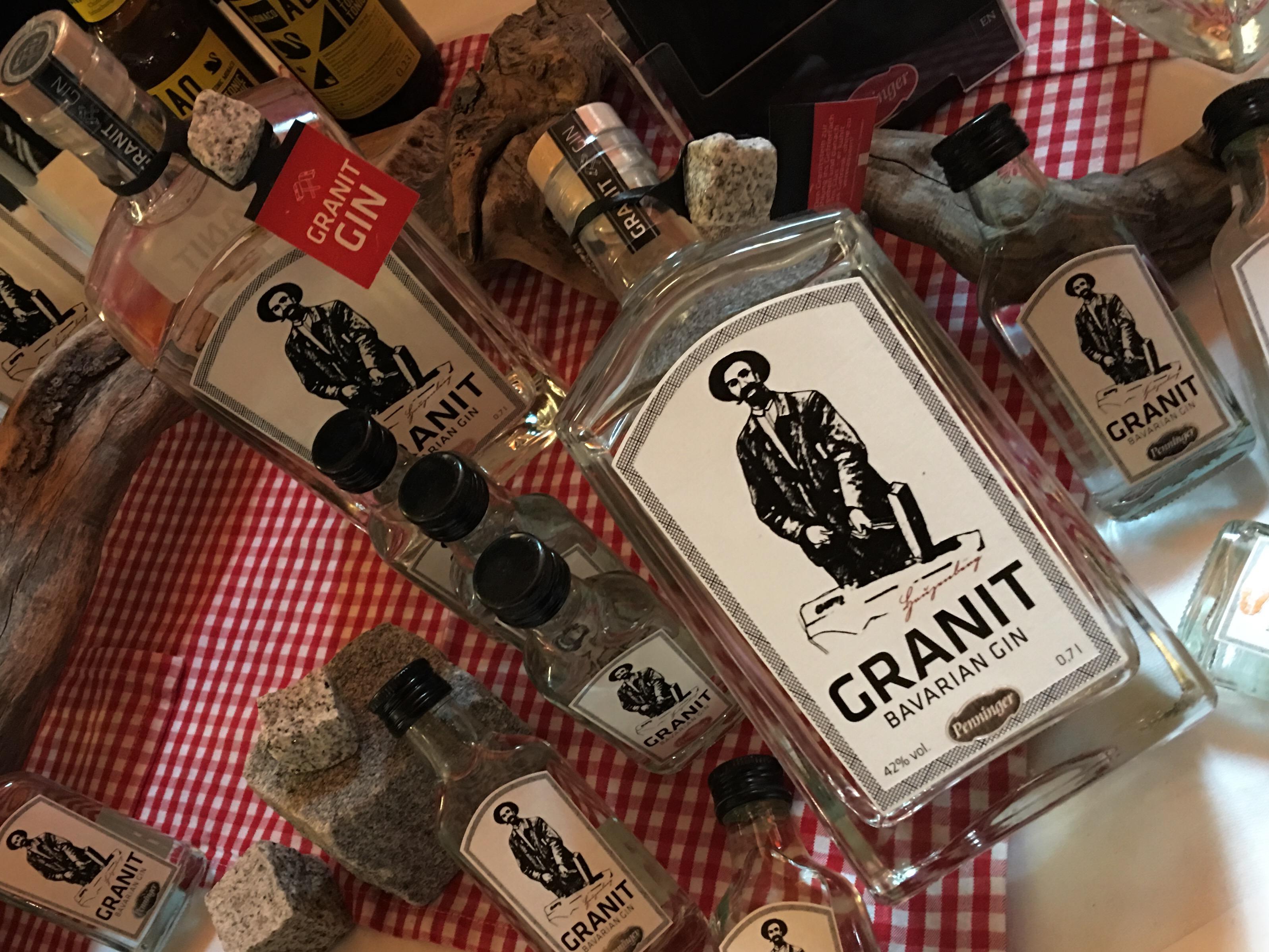 Granit Gin aus dem Traditionshaus Penninger