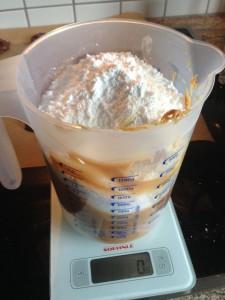 Whoopies Erdnussbutter-Cremefüllung