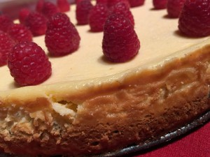 Brownie Cheesecake mit Himbeeren_4
