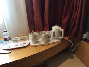 Ibis Central One Tee und Kaffee