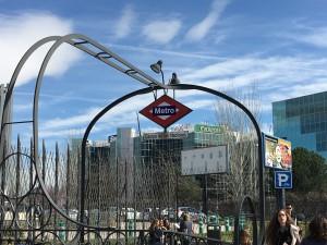 Metro Station Campo de la Naciones