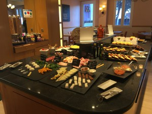 Tryp Hotel Alcala 611 Madrid Frühstück_3