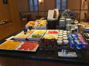 Tryp Hotel Alcala 611 Madrid Frühstück_4