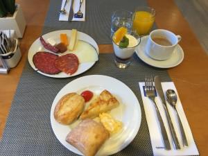 Tryp Hotel Alcala 611 Madrid Frühstück_6