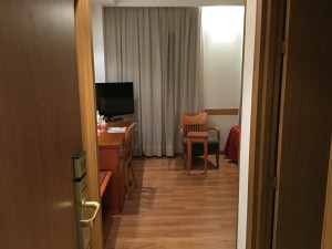 Tryp Hotel Alcala 611 in Madrid, Blick ins Zimmer