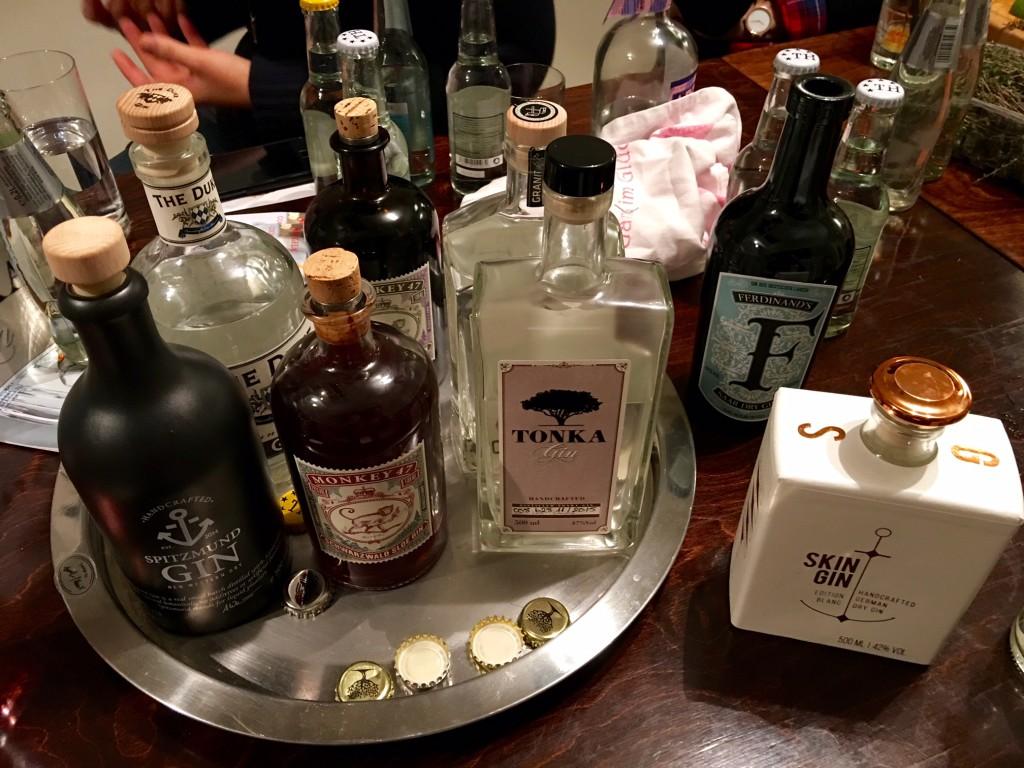 Gin Tasting by Küchenflug mit Spitzmund