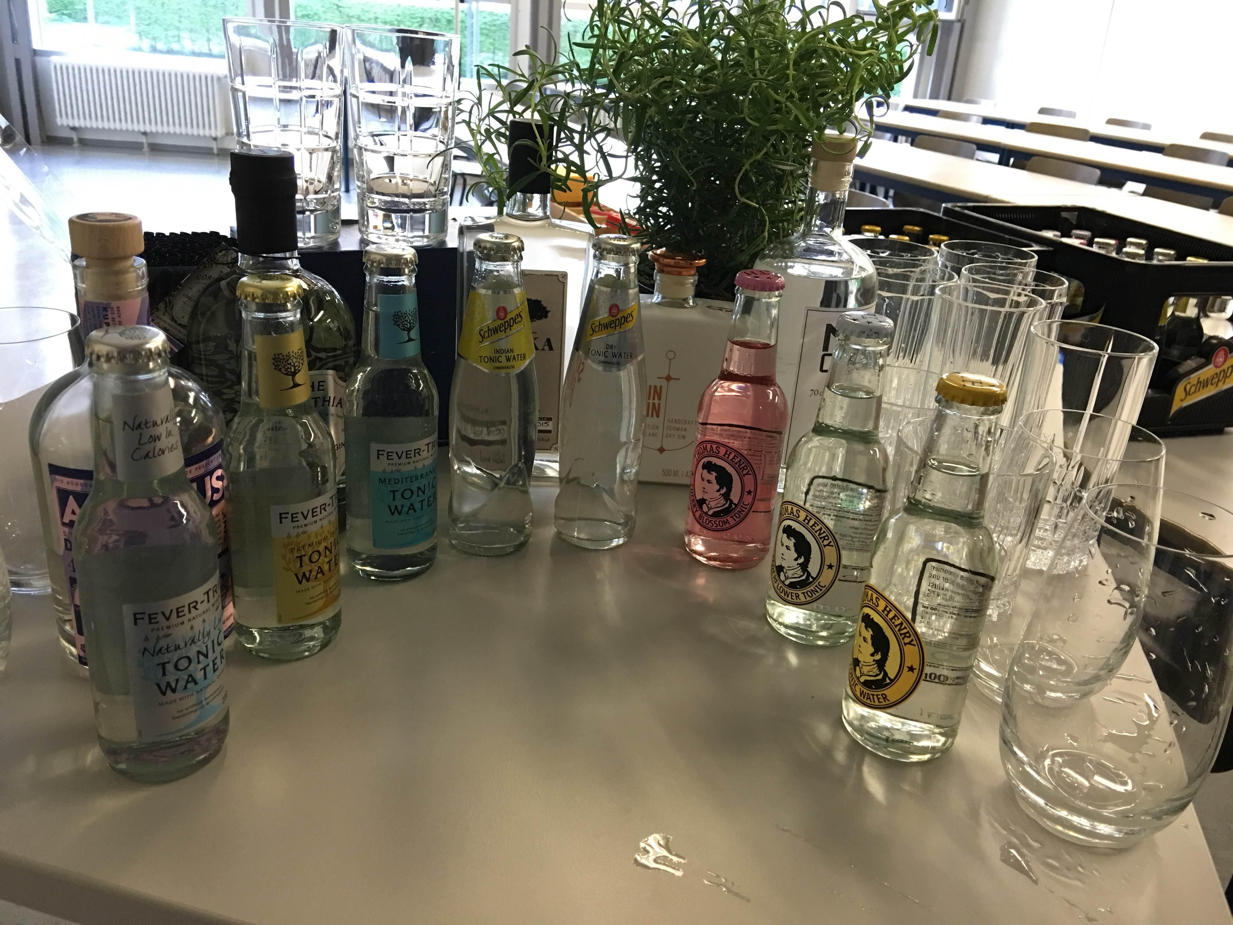 Gin & Tonic Tasting by Küchenflug