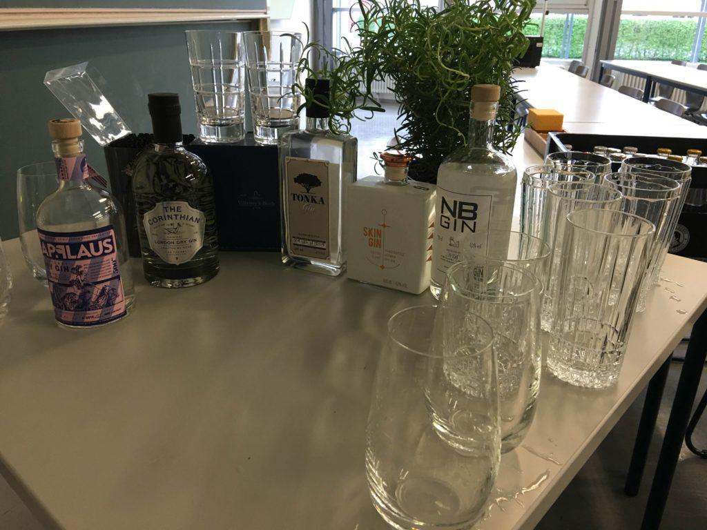 Gin & Tonic Tasting - die Gins