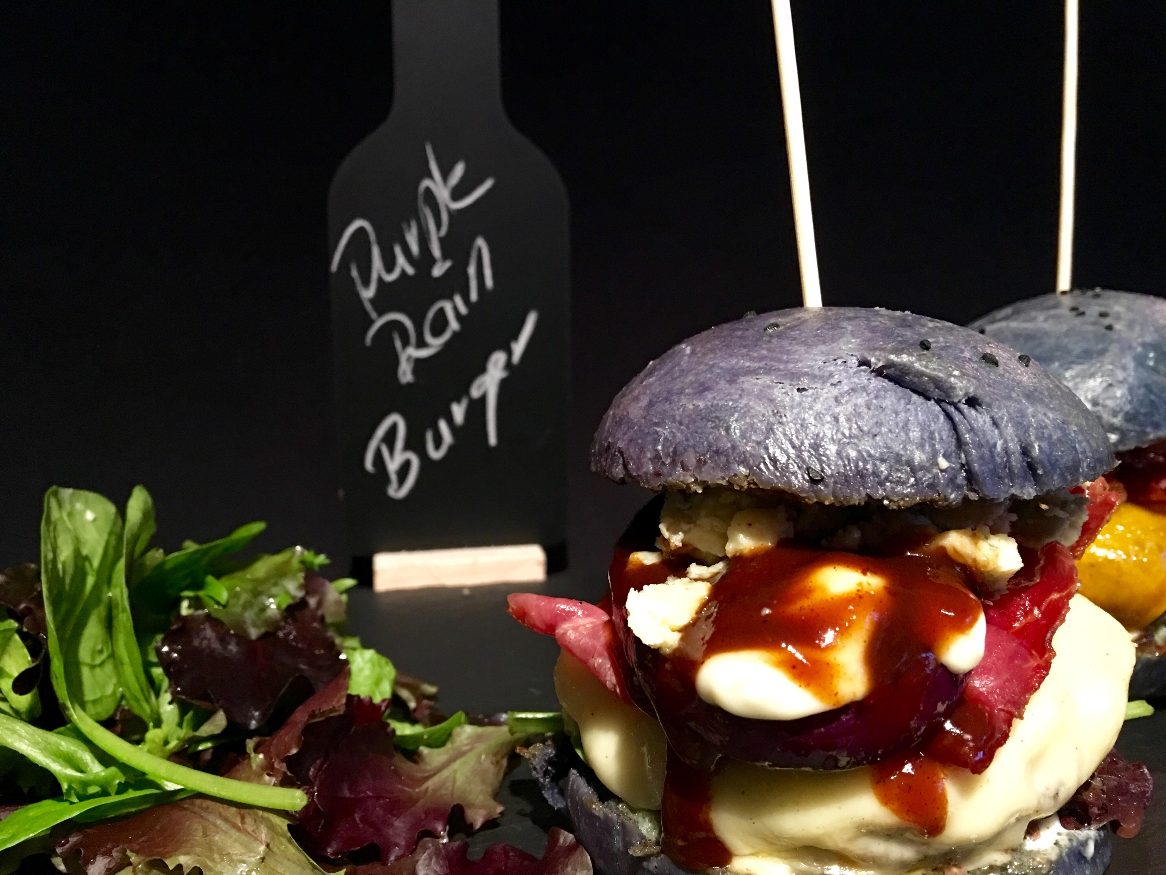 Purple Rain Wagyu Beef Burger_1