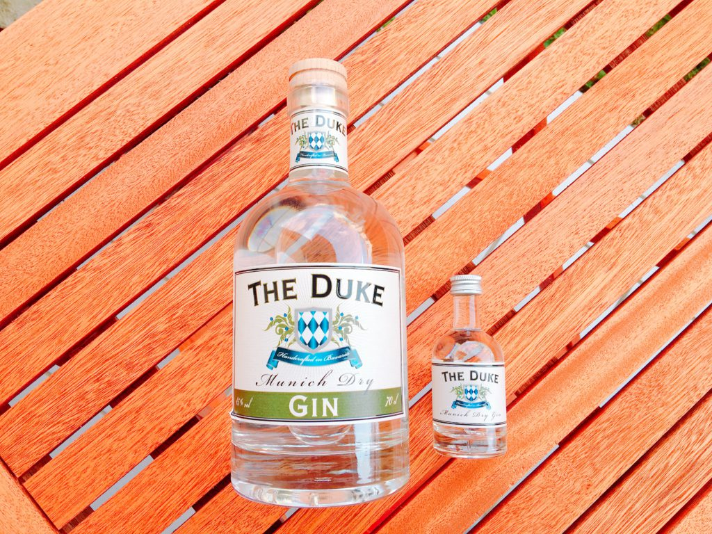 The Duke Munich Dry Gin Etikett vorne