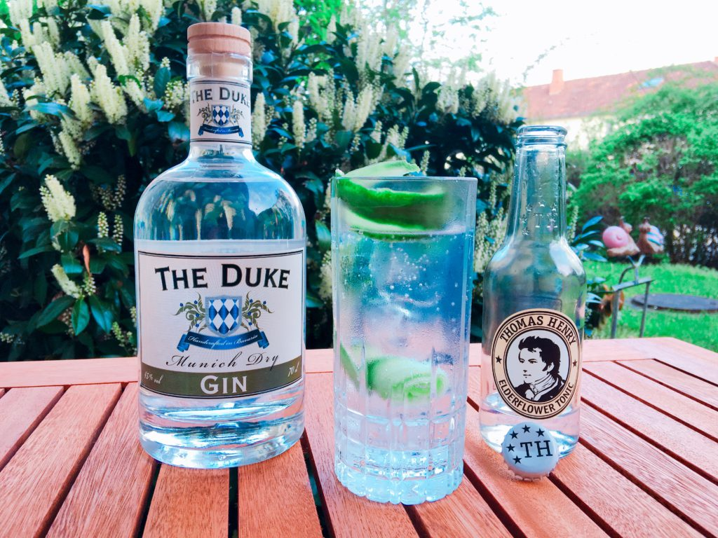 The Duke Munich Dry Gin als Gin Tonic
