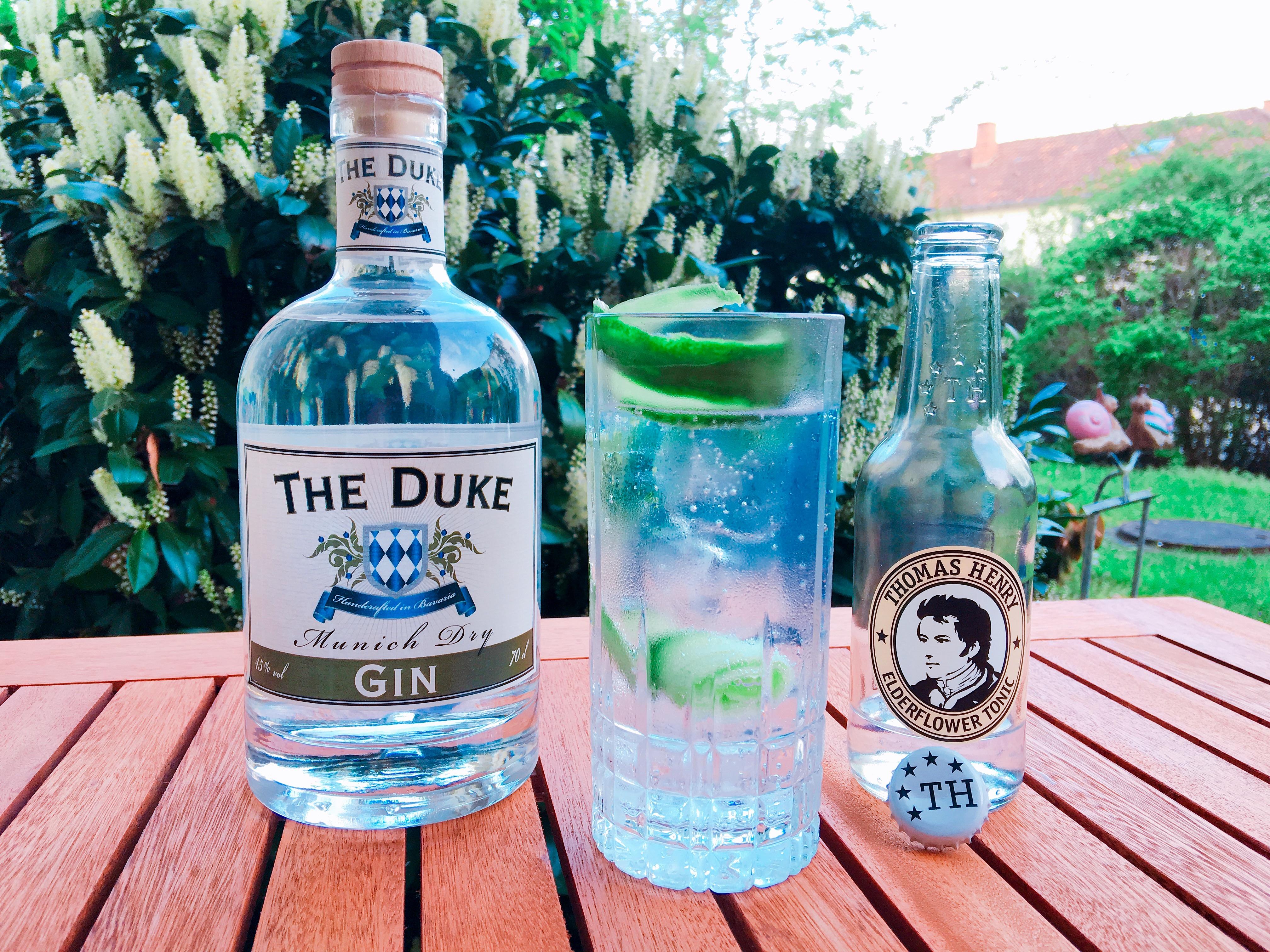 The Duke Munich Dry Gin als Gin Tonic