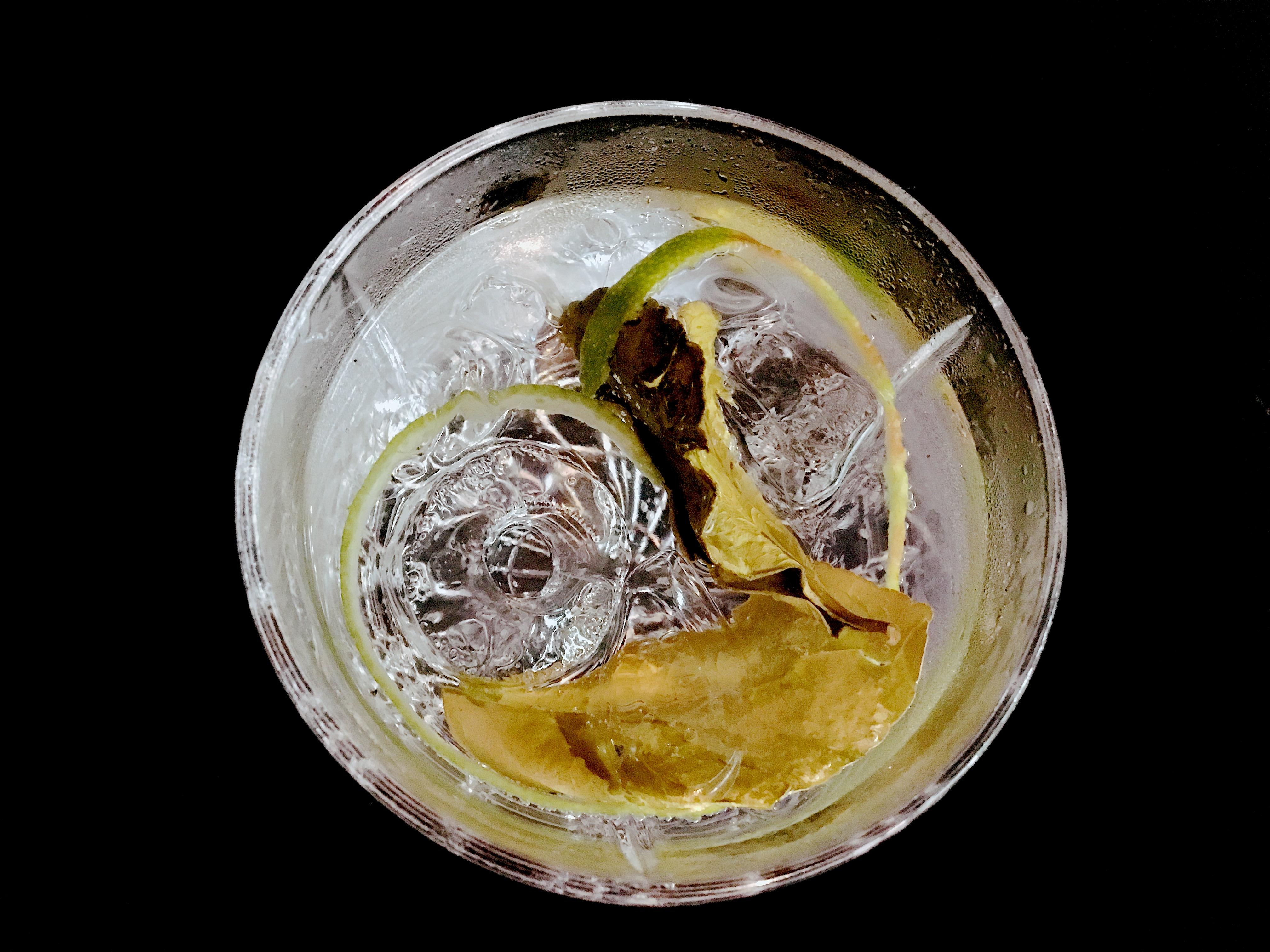 Mundart Kaiserstuhl Dry Gin Kaffir Lime GT im Tumbler