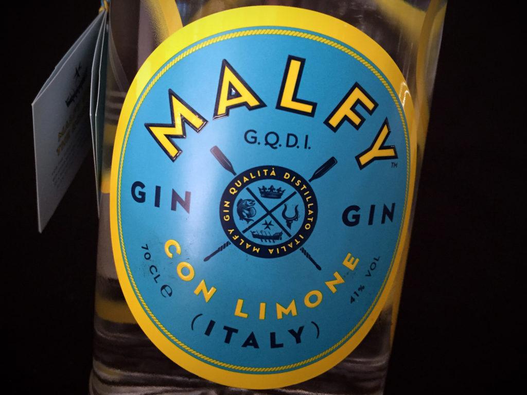 Malfy Gin Etikett