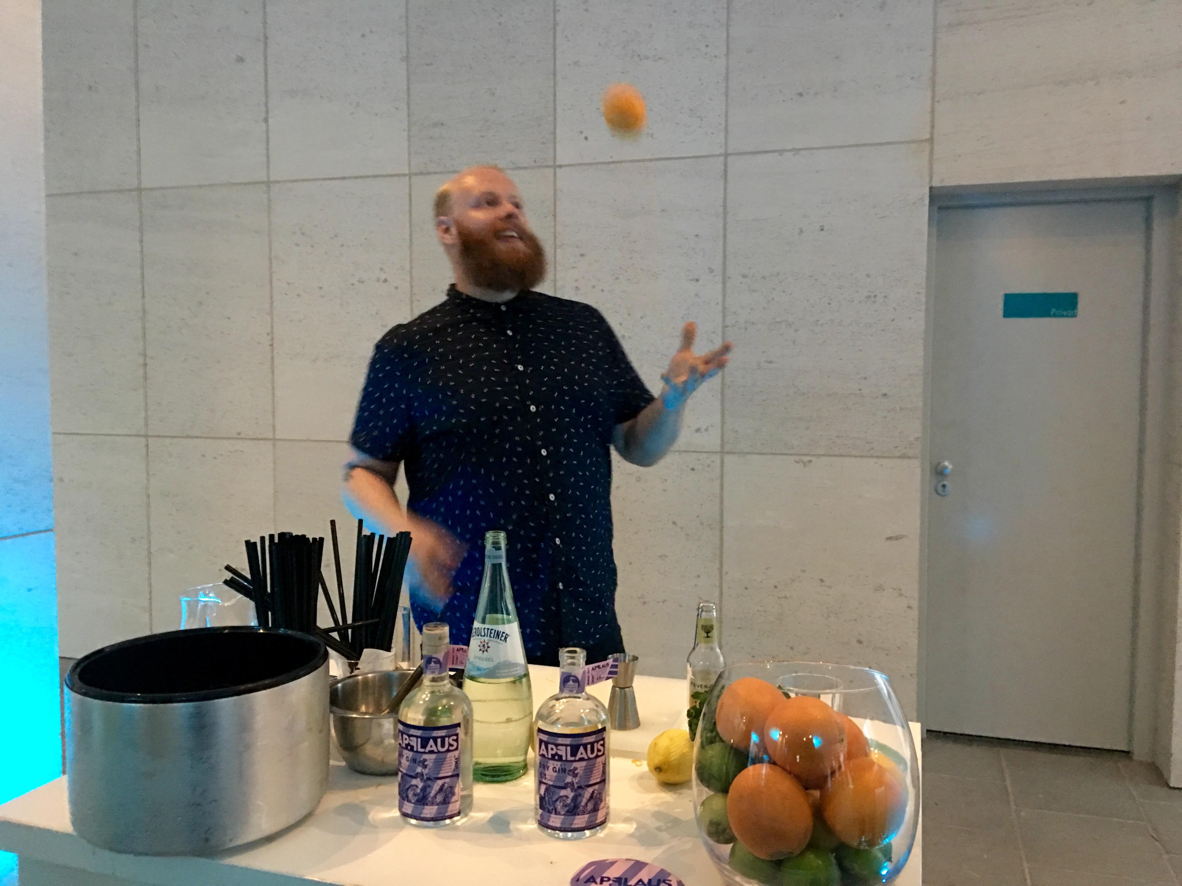 Applaus Gin Tasting mit Holger Wockenfuss