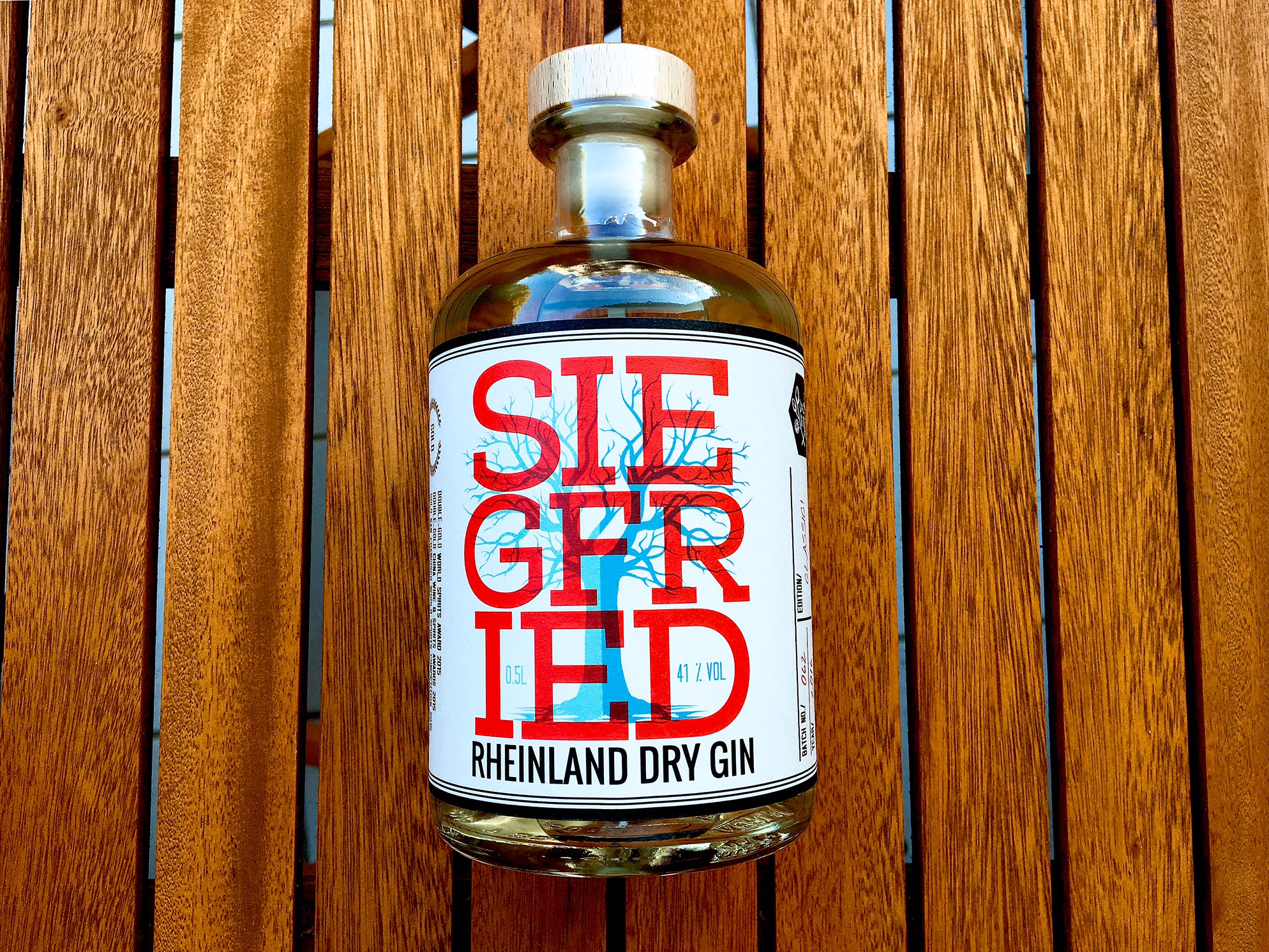 Siegfried Siggi in a bottle