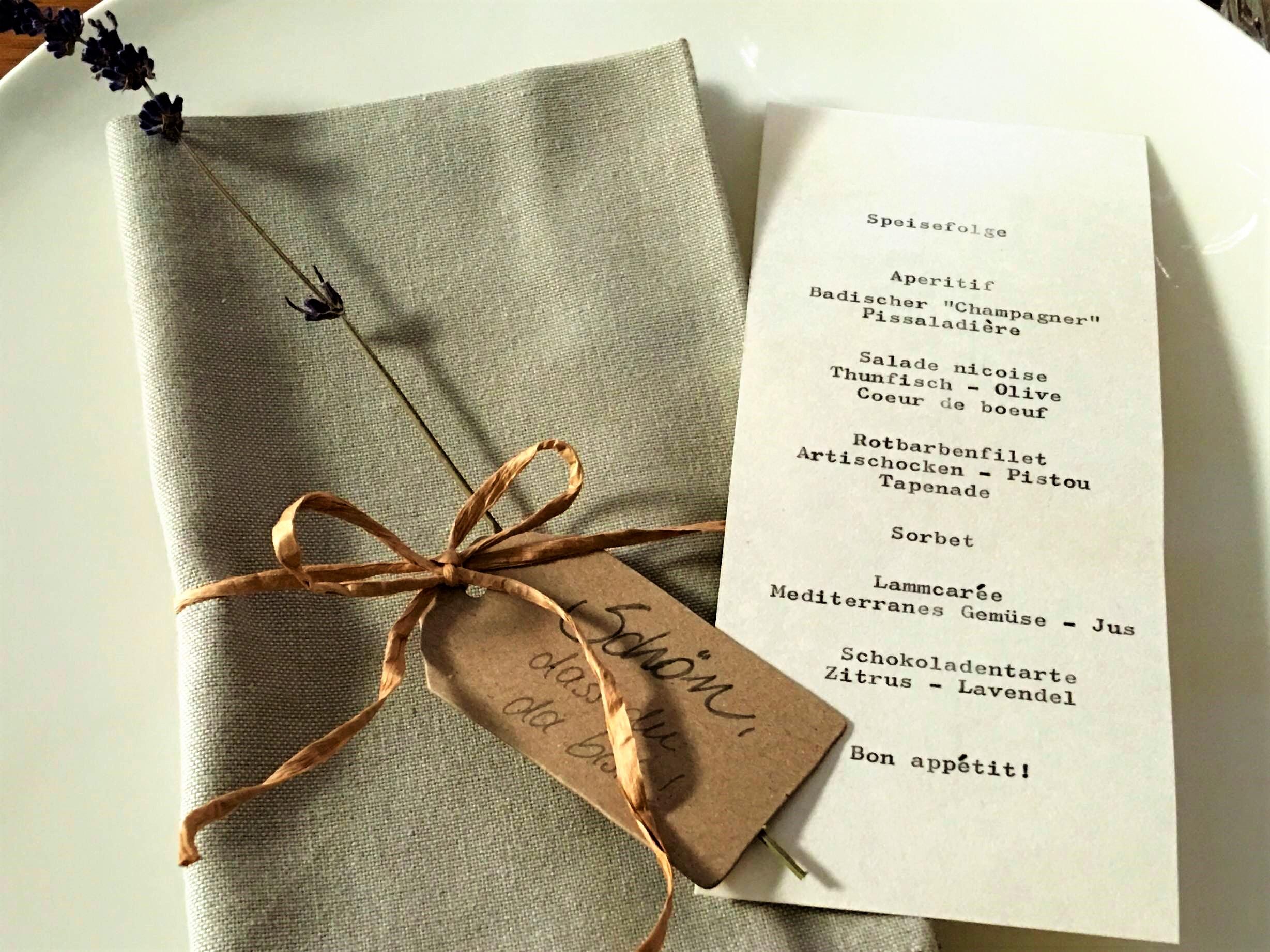fete provencale menu