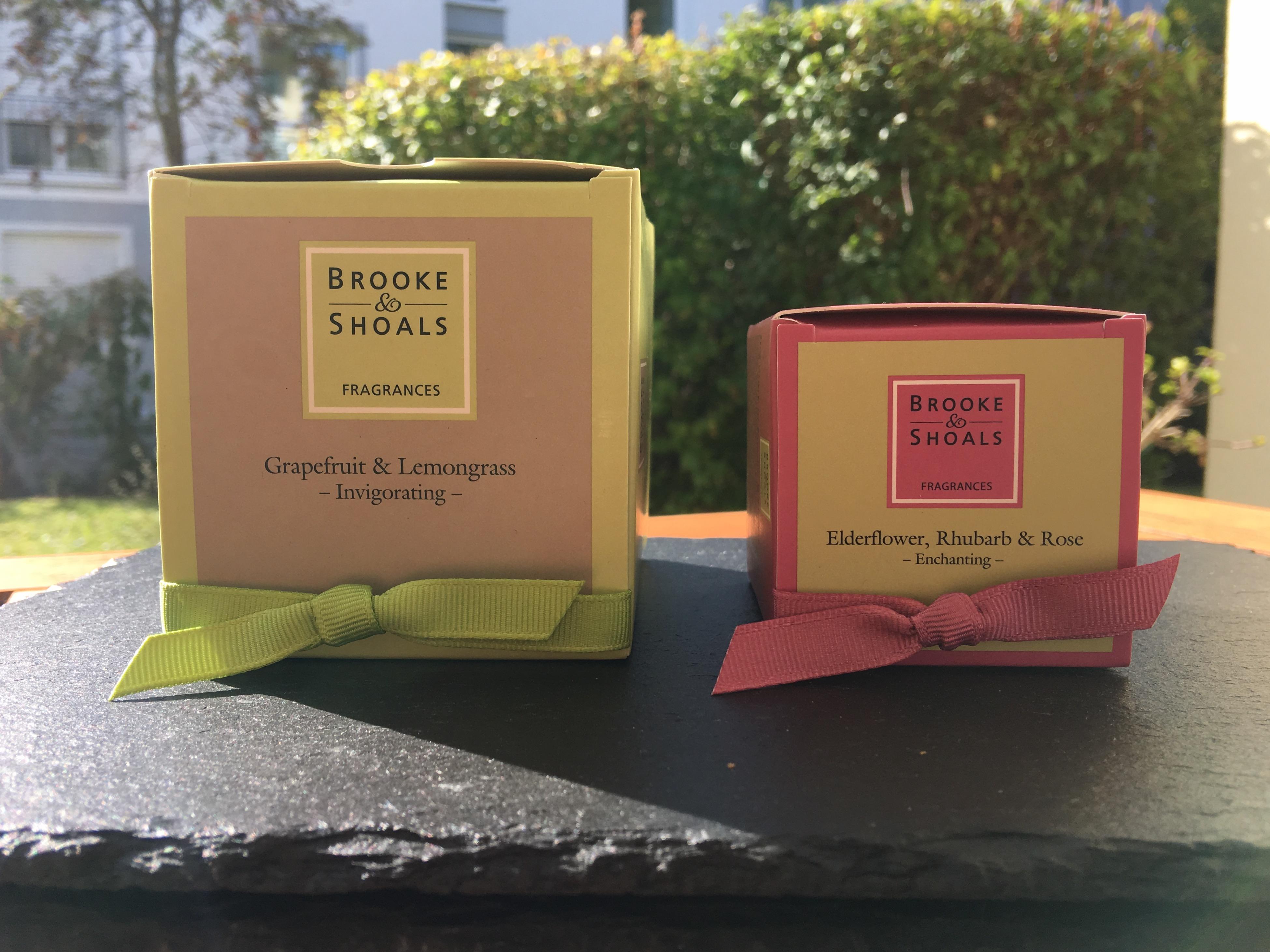 Brooke & Shoals Duftkerzen Verpackung