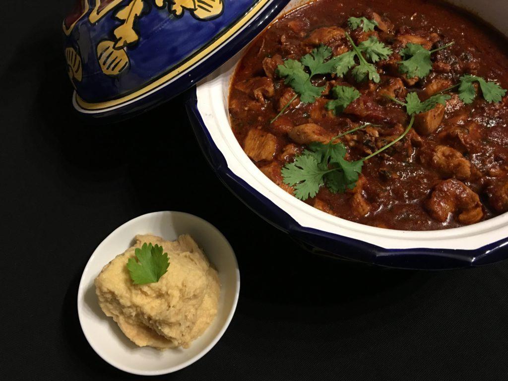 Zigni Berbere mit Hummus