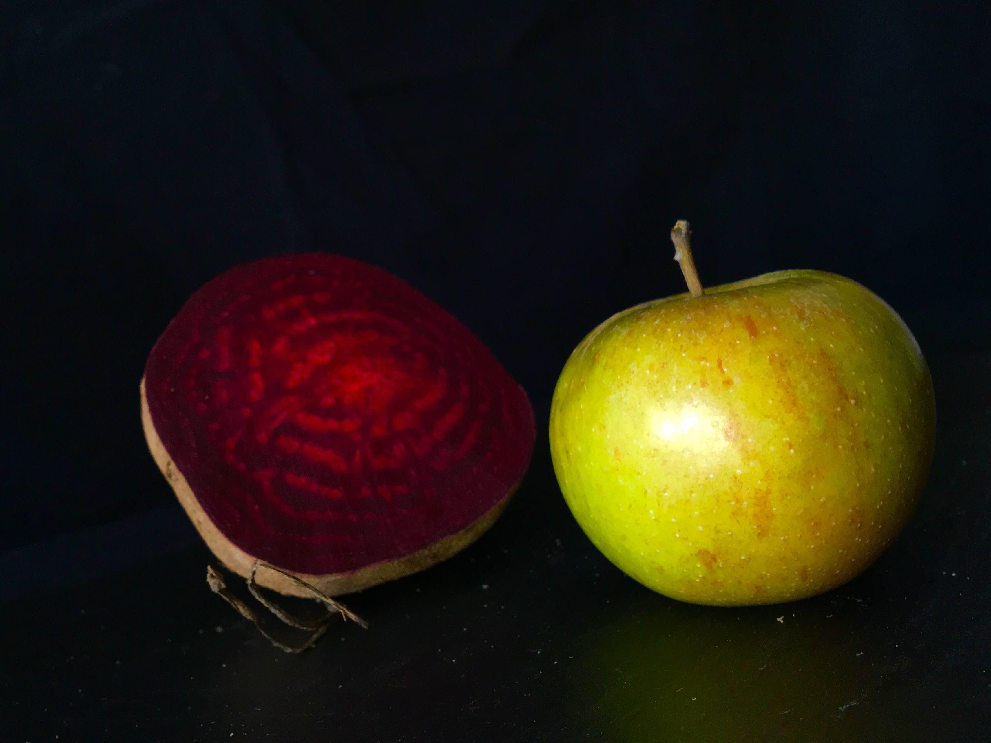 Rote Bete und Apfel sind eine perfekte Kombination