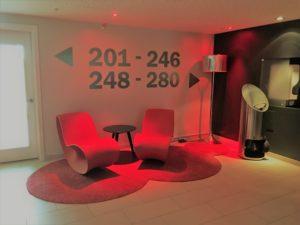 Scandic Oslo Airport Hotel Zimmer 2. Etage