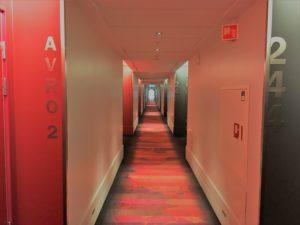 Scandic Oslo Airport Hotel Zimmer 2. Etage Flur
