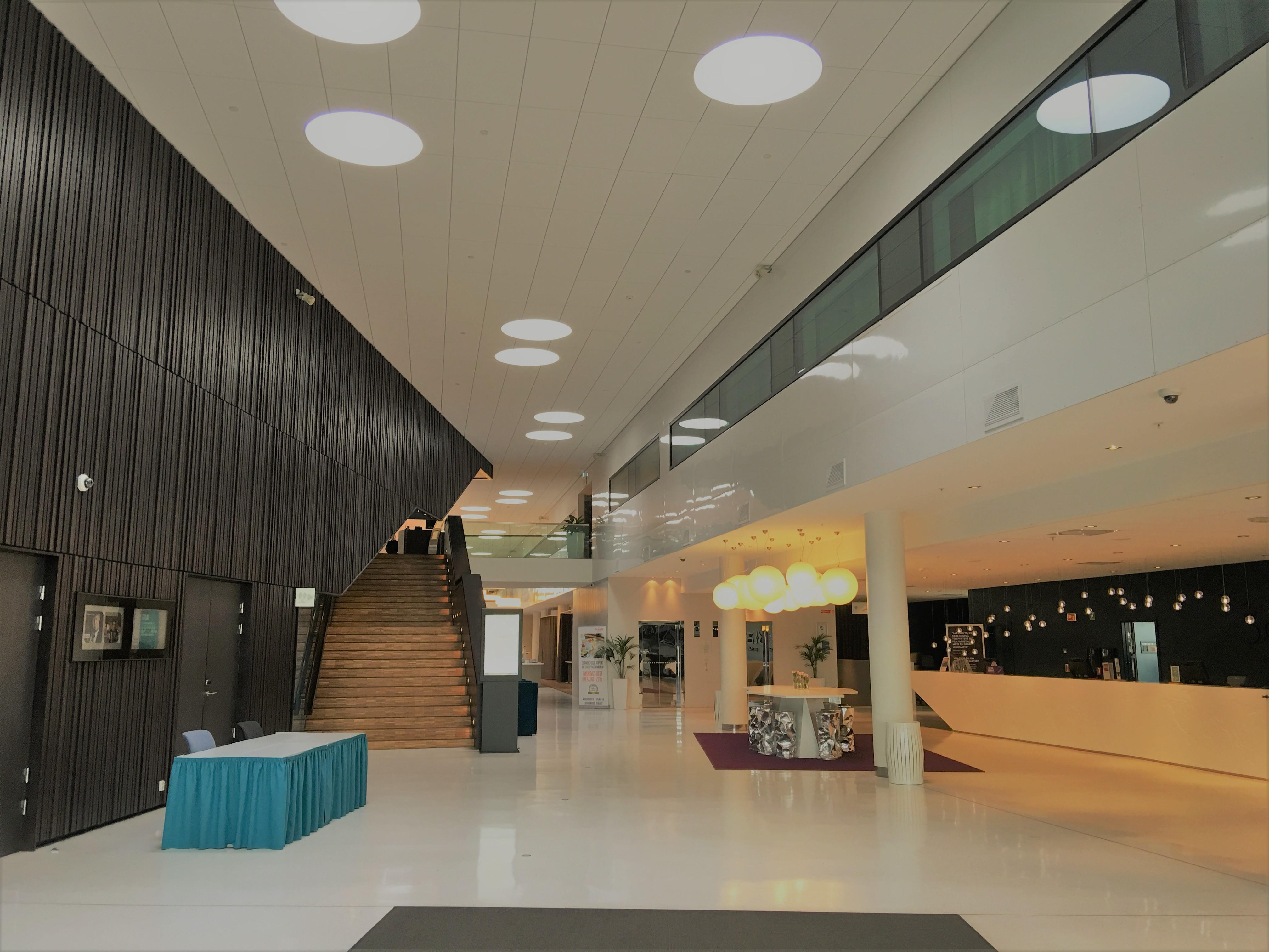 Scandic Oslo Airport Eingangsbereich und Lobby