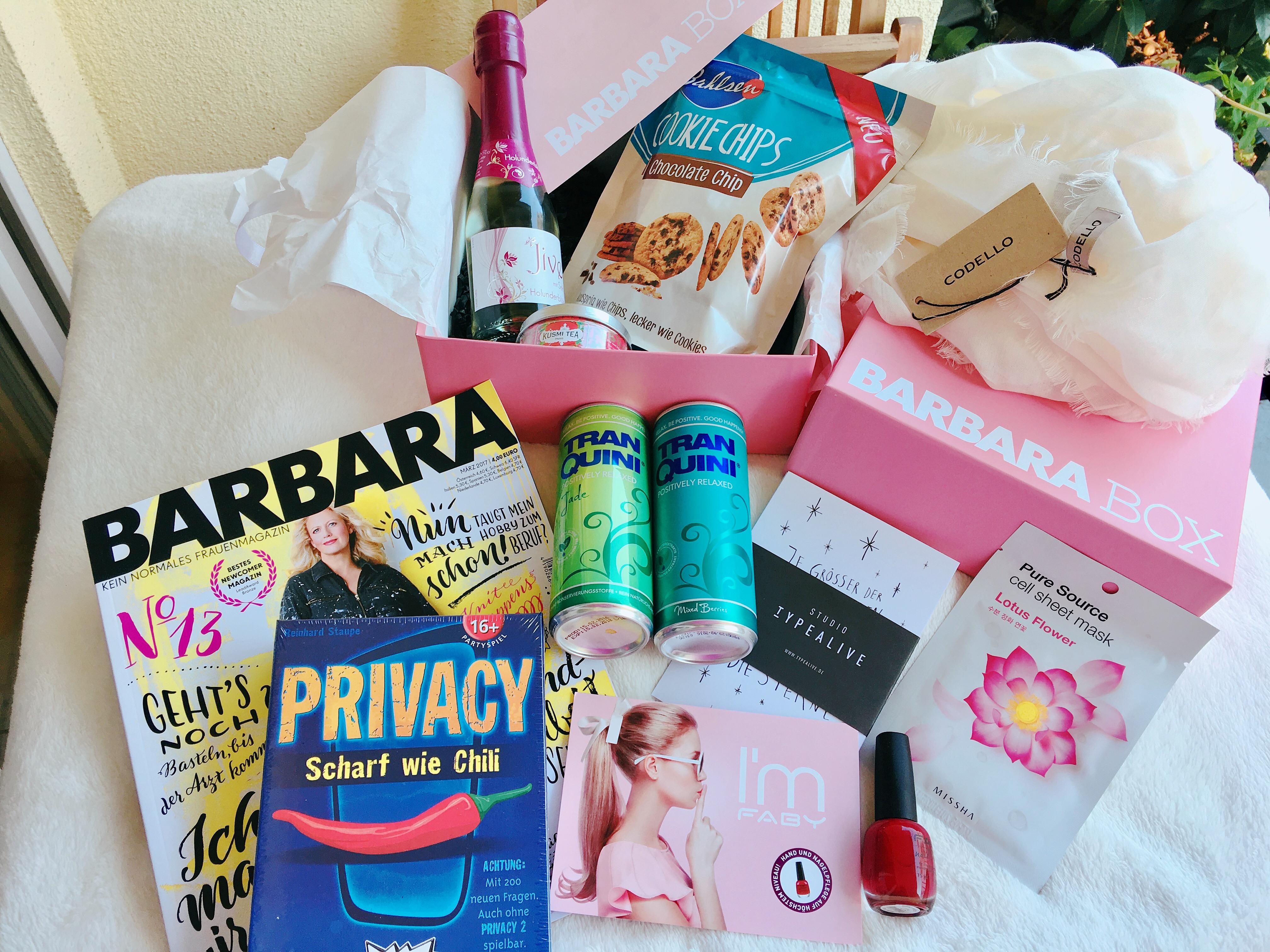 Alles für den perfekten Mädelsabend in einer Box