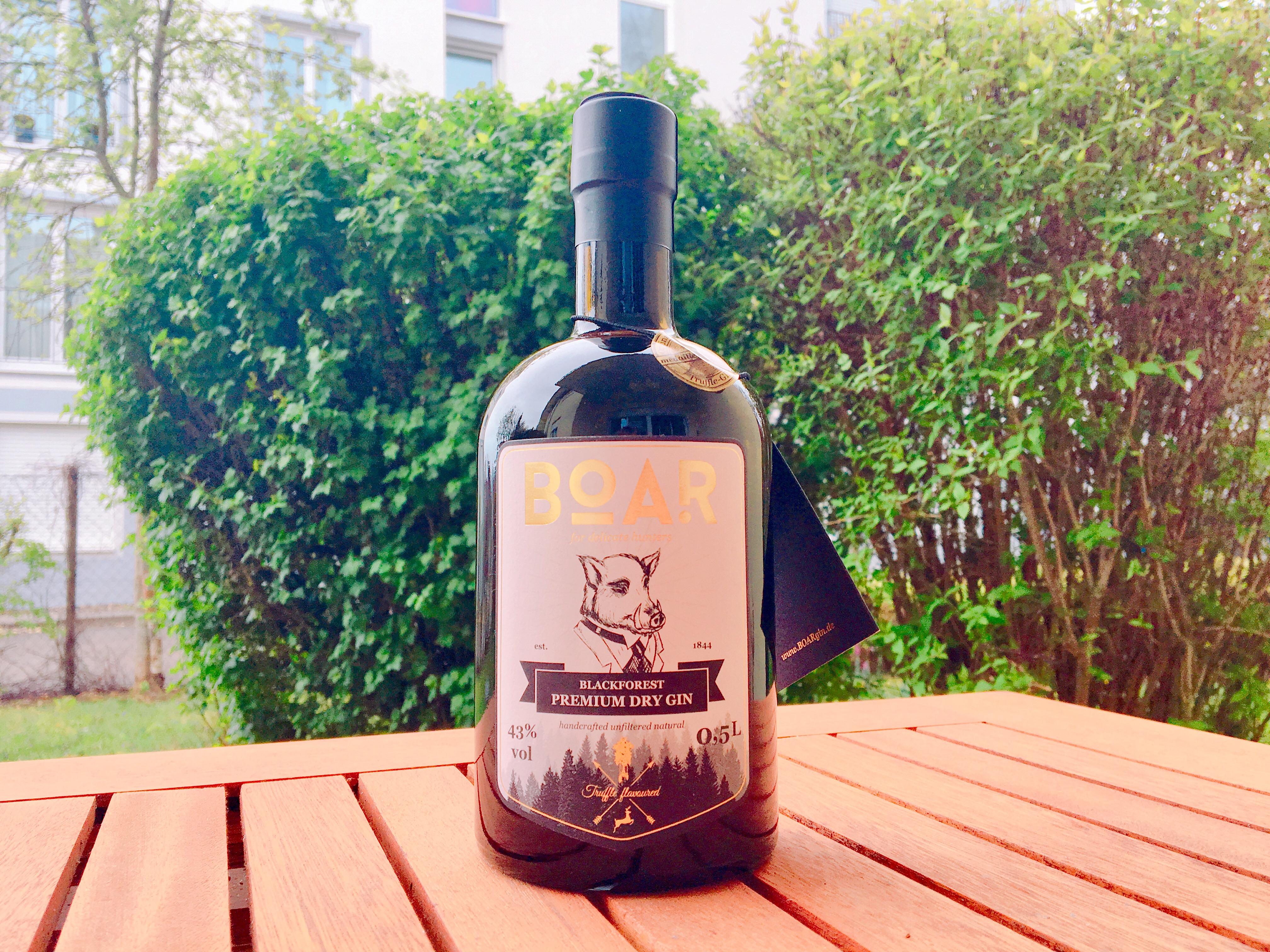 Boar Gin - Blackforest Premium Dry Gin
