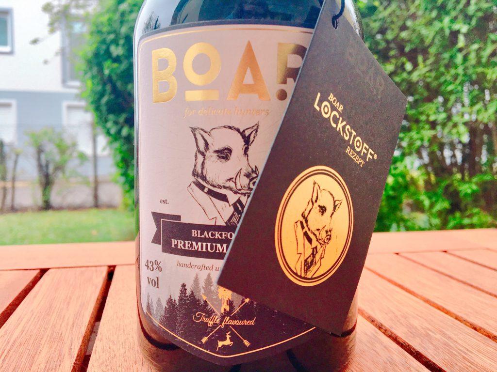 Boar Gin - der Eber im Frack