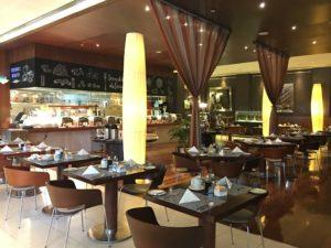 Ibis World Trade Center Cubo Restaurant innen