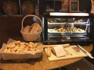 Ibis World Trade Center Frühstück. Die Brotstation.