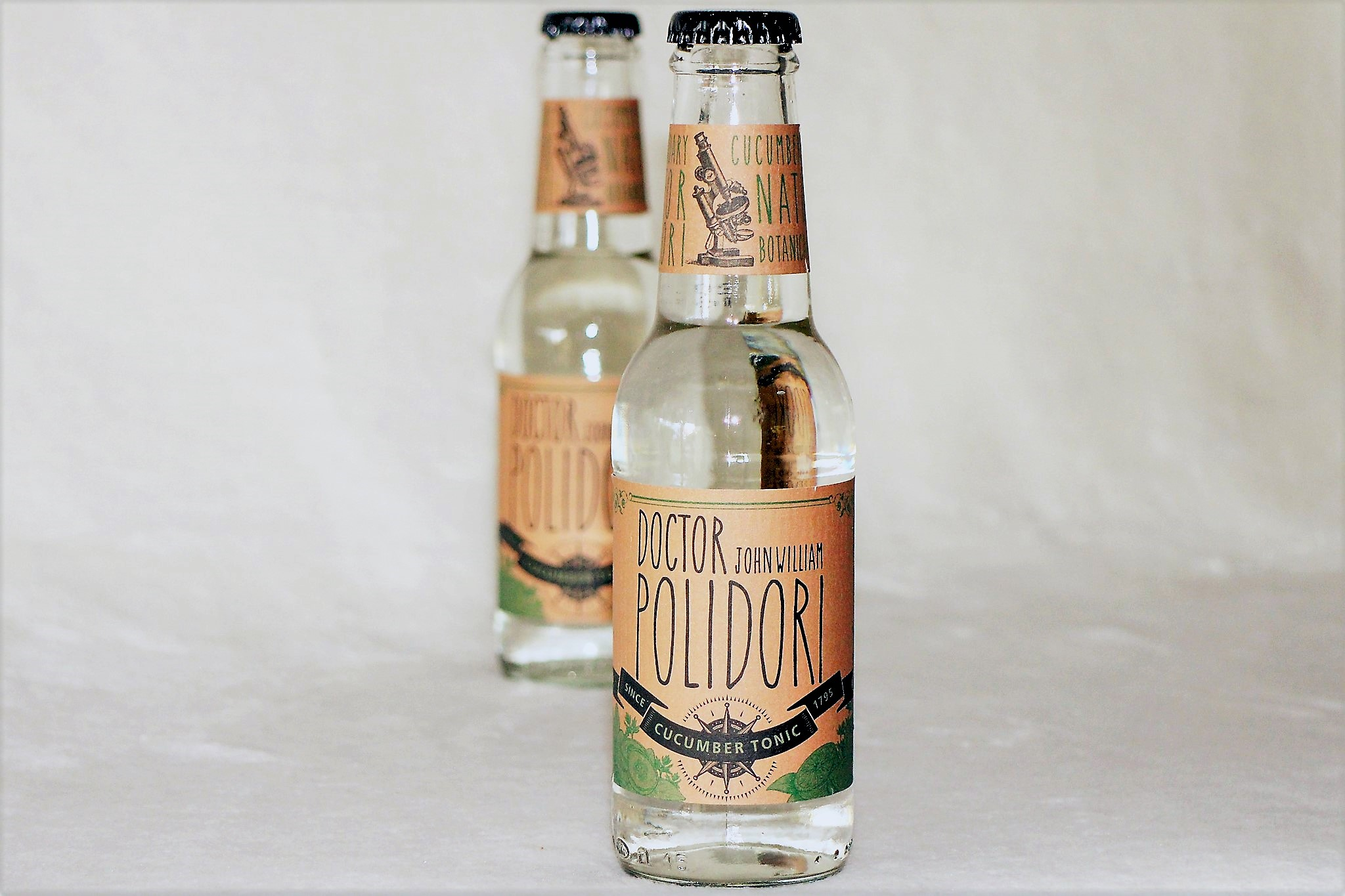 Doctor John William Polidori Cucumber Tonic in der 0,2 l Flasche