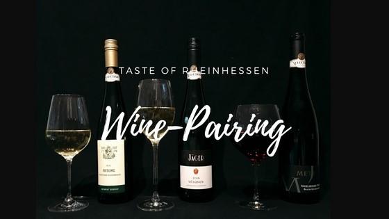 Taste of Rheinhessen Wine-Pairing