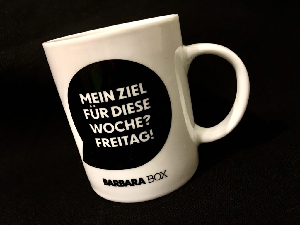 Barbara Box Tasse