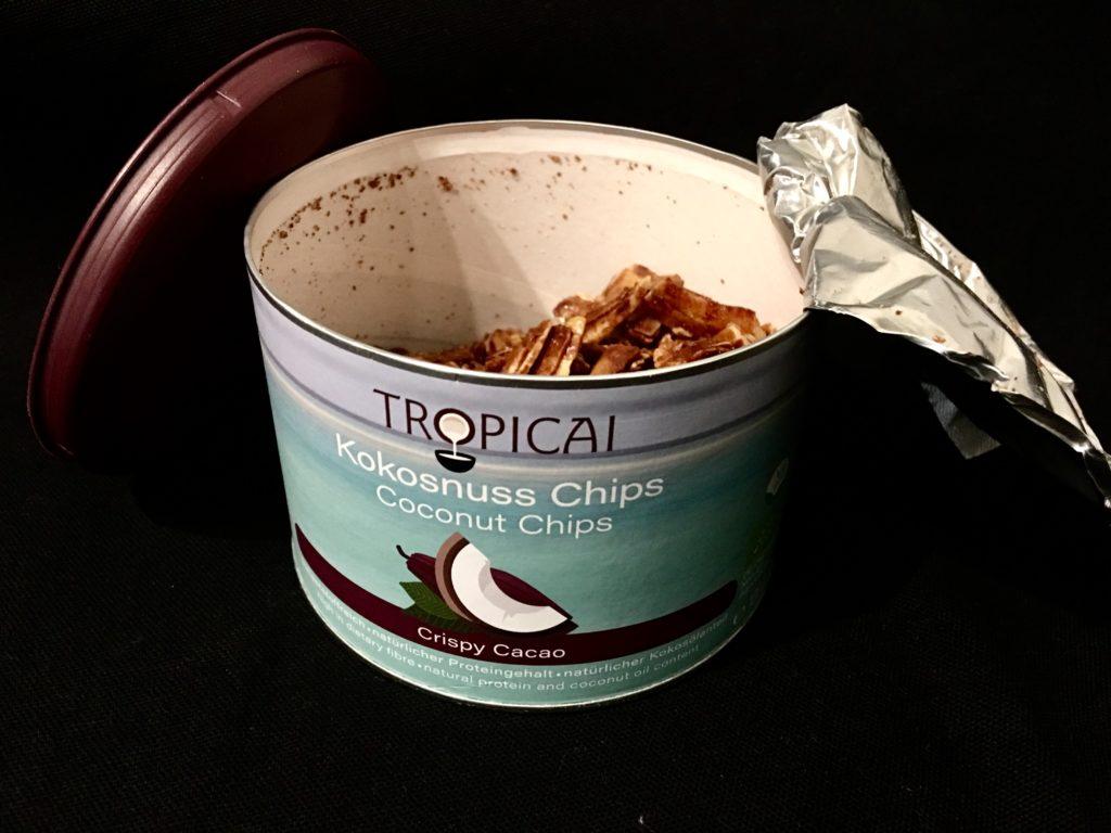 """Tropicai Kokosnusschips """"Crispy Cacao"""""""