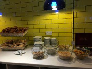 Ibis Styles London Excel im Frühstücksraum
