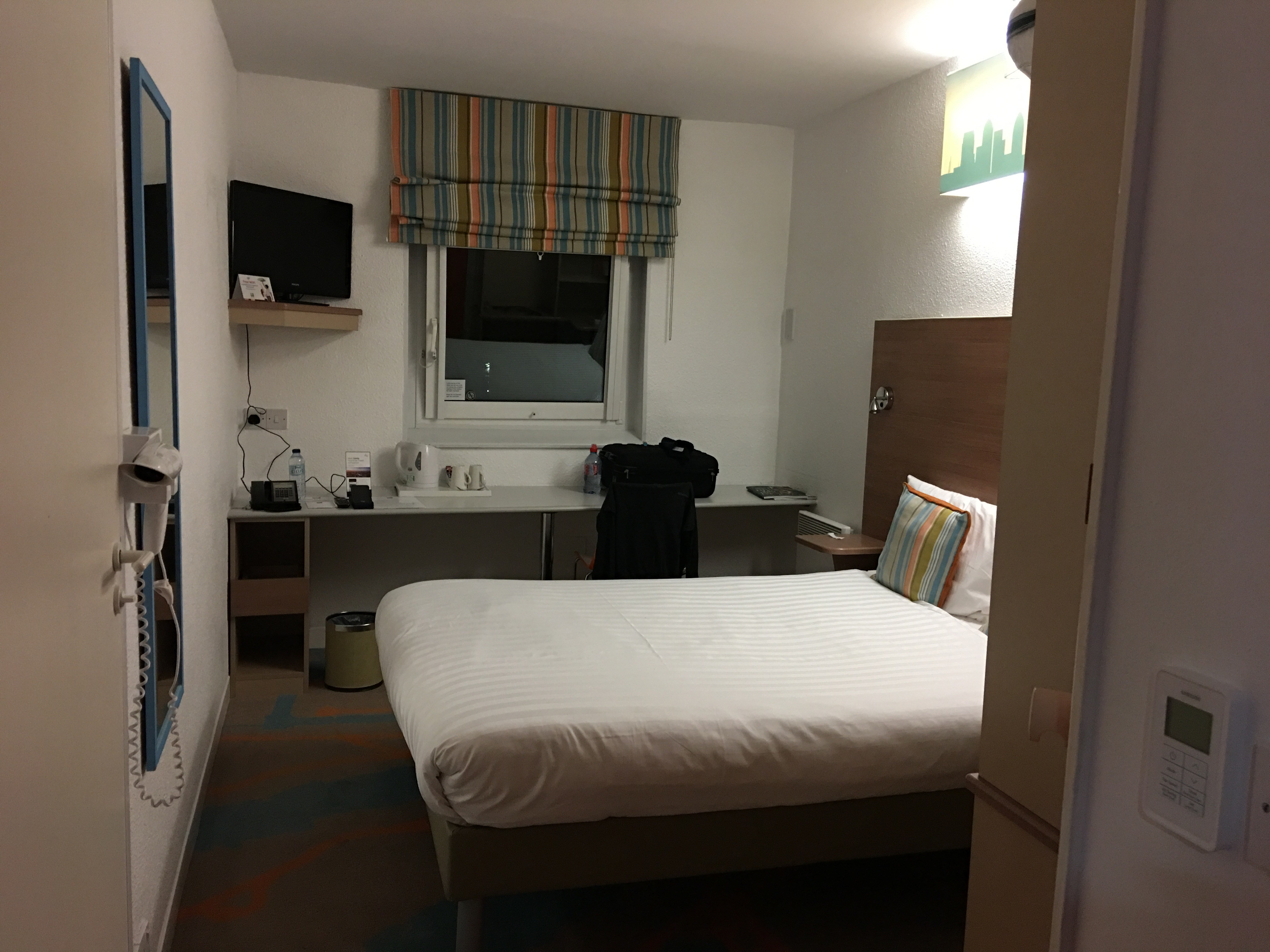 ibis Styles London Excel Zimmer 205 Eingang