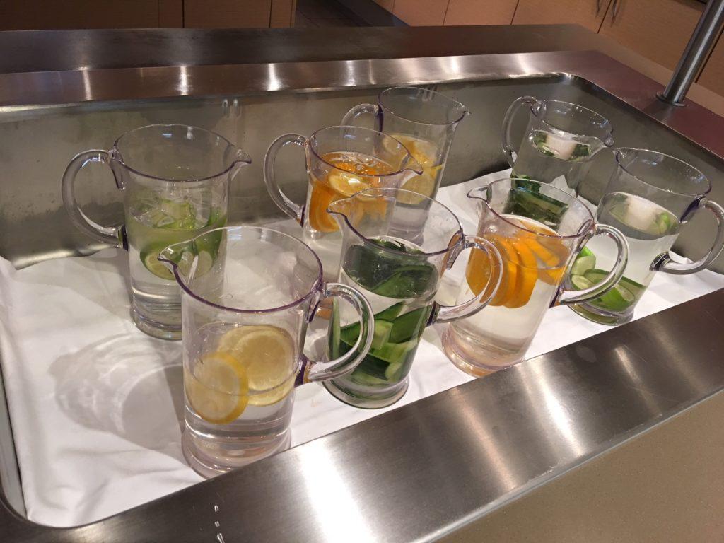 Gardermoen Airport Hotel, Frühstück mit Infused Water