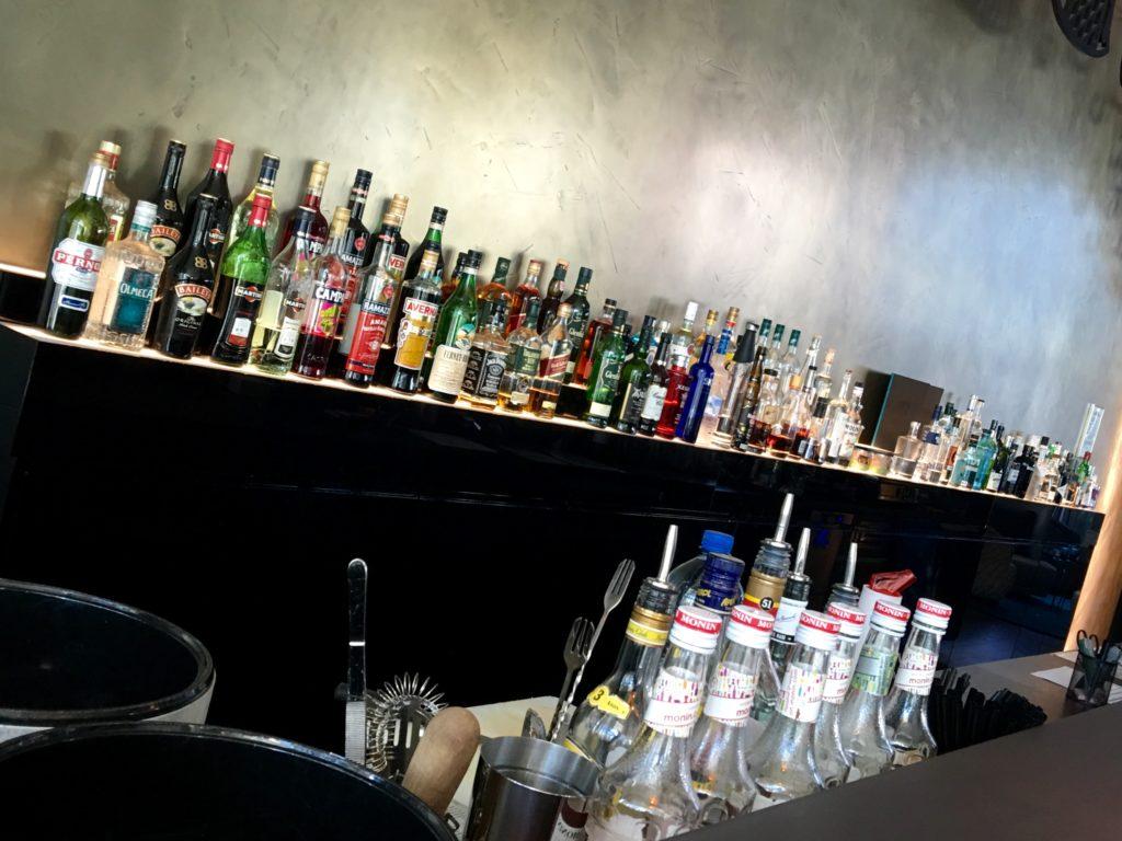 Motel One Wien Hauptbahnhof - die Bar bietet eine große Auswahl an internationalen und lokalen Spezialitäten